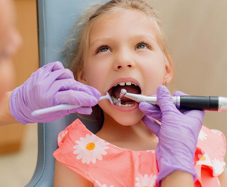 La nostra più grande soddisfazione: curare i denti dei bambini.