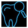 Prevenzione, diagnosi e trattamento di parodontite.