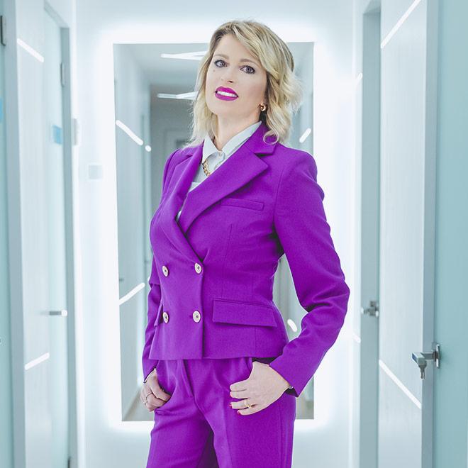 Patrizia Berardi gestisce l'area amministrativa dello Studio Dentistico.